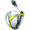 Cressi-Sub DUKE DRY FULL FACE MASK Unisex - Schnorchelausrüstung - CLEAR/YELLOW