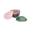 Light My Fire SNAPBOX O BIO 2-PACK Unisex - Dose - SANDYGREEN/DUSTYPINK