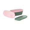 Light My Fire SNAPBOX OVAL BIO - Dose - SANDYGREEN/DUSTYPINK