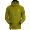 Arc'teryx SQUAMISH HOODY MEN' S Männer - Windbreaker - OLIVE AMBER