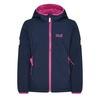 Jack Wolfskin KISSEKATT JACKET Kinder - Softshelljacke - MIDNIGHT BLUE