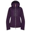 Fjällräven KEB ECO-SHELL JACKET W Frauen - Regenjacke - ALPINE PURPLE