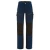 Fjällräven BERGTAGEN ECO-SHELL TROUSERS W Frauen - Regenhose - MOUNTAIN BLUE