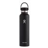 Hydro Flask 24 OZ STANDARD MOUTH WITH STANDARD FLEX CAP - Trinkflasche - BLACK