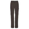 Fjällräven TRAVELLERS MT ZIP-OFF TRS W Frauen - Reisehose - DARK GREY