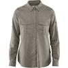 Fjällräven ÖVIK TRAVEL SHIRT LS W Frauen - Outdoor Bluse - FOG