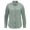 Fjällräven ÖVIK TRAVEL SHIRT LS W Frauen - Outdoor Bluse - SAGE GREEN