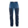 Fjällräven KEB TROUSERS W REG Frauen - Trekkinghose - DARK NAVY-UNCLE BLUE