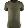 Fjällräven KEB WOOL T-SHIRT M Männer - Funktionsshirt - LAUREL GREEN-DEEP FOREST