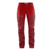 Fjällräven KEB TROUSERS CURVED W SHORT Frauen - Trekkinghose - OX RED-LAVA