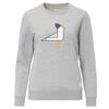 FRILUFTS OMAUI PRINTED SWEATER Frauen - Sweatshirt - SMOKED PEARL