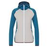 FRILUFTS PUKAKI HOODED FLEECE JACKET Frauen - Fleecejacke - MOROCCAN BLUE