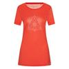 FRILUFTS TOMATO PRINTED T-SHIRT Frauen - Funktionsshirt - TOMATO