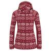 FRILUFTS BUALA HOODED FLEECE JACKET Frauen - Fleecejacke - CABERNET