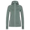 FRILUFTS OUSE HOODED FLEECE JACKET Frauen - Fleecejacke - SILVER PINE