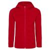 FRILUFTS KVINA HOODED JACKET Kinder - Fleecejacke - MOLTEN LAVA