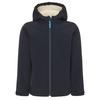 FRILUFTS HEIMAEY HOODED SOFTSHELL JACKET Kinder - Softshelljacke - DARK SAPPHIRE