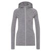 FRILUFTS KALSOY HOODED JACKET Frauen - Wolljacke - SMOKED PEARL