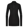 Smartwool WOMEN' S THERMAL ZIP T Frauen - Funktionsshirt - BLACK