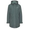 Jack Wolfskin MONTEREY BAY COAT Frauen - Doppeljacke - GREENISH GREY