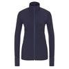 Icebreaker WMNS DESCENDER LS ZIP Frauen - Langarmshirt - MIDNIGHT NAVY