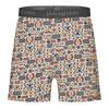 Patagonia M' S ESSENTIAL BOXERS Männer - Funktionsunterwäsche - PROTECTED PEAKS MULTI: FEATHER