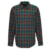 Patagonia M' S L/S PIMA COTTON SHIRT Männer - Outdoor Hemd - BUTTES SMALL: PIKI GREEN