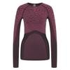 Odlo BL TOP Crew neck l/s BLACKCOMB Frauen - Funktionsunterwäsche - BLACK - CERISE - CERISE