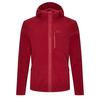 Jack Wolfskin SKYWIND HOODED JACKET M Männer - Fleecejacke - DARK LACQUER RED