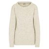 Devold NANSEN WOMANS SPLIT SEAM SWEATERS Frauen - Wollpullover - GREY MELANGE