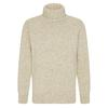 Devold NANSEN SWEATER HIGH NECK Unisex - Wollpullover - GREY MELANGE