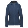Mountain Equipment CHAMONIX HOODED  JACKET Frauen - Fleecejacke - ME-01546 DENIM SOLID