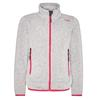 CMP GIRL JACKET Kinder - Fleecejacke - ARGENTO-B.CO