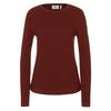 Fjällräven HIGH COAST MERINO SWEATER W Frauen - Wollpullover - MAROON