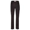 Fjällräven KAIPAK TROUSERS CURVED W Frauen - Trekkinghose - DARK GREY-BLACK
