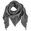Himalaya BOILED WOOL TRIANGLE-SCARF Frauen - Schal - 452 IRON GREY
