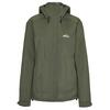 Tierra FLON RAIN JACKET W Frauen - Regenjacke - HERBAL GREEN