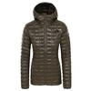 The North Face W THERMOBALL ECO HOODIE Frauen - Übergangsjacke - NEW TAUPE GREEN