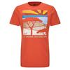 Jack Wolfskin SAVANNAH T M Männer - T-Shirt - SAFFRON ORANGE
