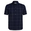 Icebreaker MENS COMPASS SS SHIRT Männer - Outdoor Hemd - MIDNIGHT NAVY/MONSOON