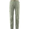 Fjällräven TRAVELLERS MT ZIP-OFF TRS W Frauen - Reisehose - SAGE GREEN