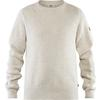 Fjällräven GREENLAND RE-WOOL CREW NECK M Männer - Wollpullover - CHALK WHITE