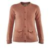 Fjällräven GREENLAND RE-WOOL CARDIGAN W Frauen - Wollpullover - TERRACOTTA PINK
