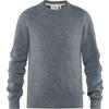 Fjällräven GREENLAND RE-WOOL CREW NECK M Männer - Wollpullover - THUNDER GREY
