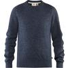 Fjällräven GREENLAND RE-WOOL CREW NECK M Männer - Wollpullover - DARK NAVY