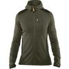 Fjällräven KEB FLEECE HOODIE M Männer - Fleecejacke - LAUREL GREEN-DEEP FOREST