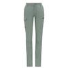 Fjällräven TRAVELLERS MT TROUSERS W Frauen - Reisehose - SAGE GREEN