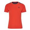 Mountain Equipment GROUNDUP COLOURBLOCK TEE Männer - Funktionsshirt - PAPRIKA/DENIM BLUE