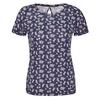 FRILUFTS HEDJE PRINTED T-SHIRT Frauen - T-Shirt - DRESS BLUES