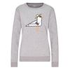FRILUFTS OMAUI PRINTED SWEATER Frauen - Sweatshirt - SMOKED PEARL 2